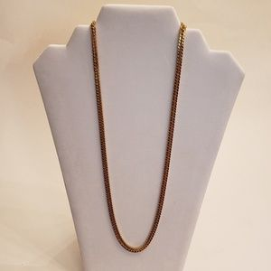 Cubana Stainless Steel Chain Necklace
